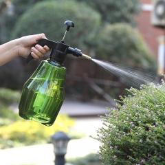 1.2L手持气压喷壶 园艺花洒喷瓶 墨绿色 30*12.5cm