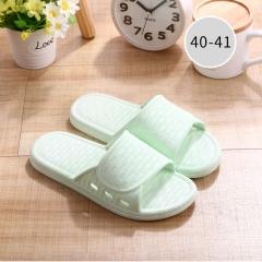 韩系居家凉拖鞋 绑带款 小码 80个/箱 果绿 36-37