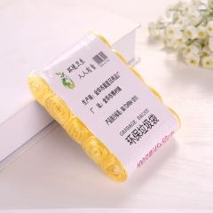 五连卷垃圾袋  80PCS/箱 黄色 五连卷