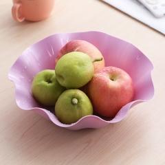 塑料创意果盘(200个/箱)个 紫色 24*6*12cm