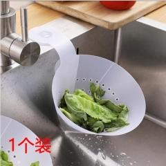 吸壁式沥水袋 水槽网  4/箱 白色 12.5*17cm
