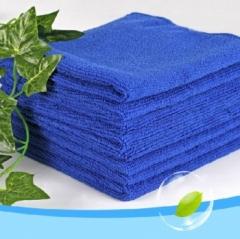 超细纤维纳米洗车毛巾/擦车巾    3000/箱 宝蓝色 30*30cm
