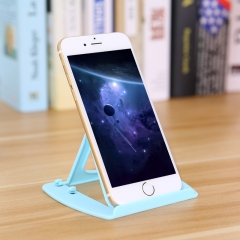 塑料多功能手机支架 (400个/箱) 蓝色 14*9cm
