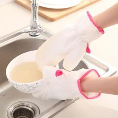 纤维洗碗手套-单只售 如图 常规