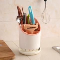 趣味厨房沥水筷子笼 72个/箱 粉色 12*19(11)cm