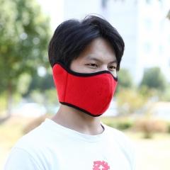 双层保暖防风面罩 200个/箱 大红 见详情