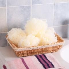 30g纯色沐浴球 奶白色