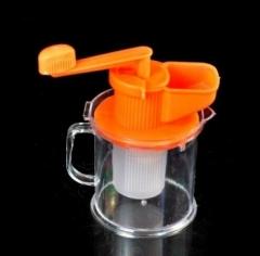 环保纯手工豆浆器/榨汁器 100/箱 橙色 14.5*18*9.5cm