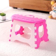 便携折叠板凳 儿童塑料手提凳-50/箱 粉色 如详情页