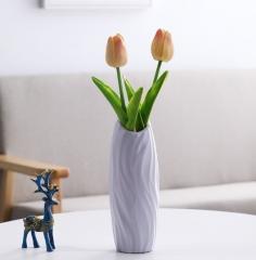 居家客厅花瓶瓶口椭圆902-120/箱 灰色 902