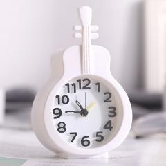 小提琴闹钟 200/箱 白色 9.2*15*4cm