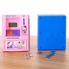 秒杀 新款智能ATM自动取款机/ATM语音自动储蓄罐(混色) 80/箱 混色 15*14*21CM