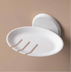 免打孔沥水皂盒放肥皂的架子 240/箱  如详情所示 白色 如详情所示