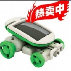 OPP装太阳能六合一益智DIY玩具组