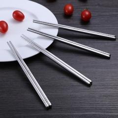 不锈钢餐具筷子(1000双/箱)双 不锈钢 长款