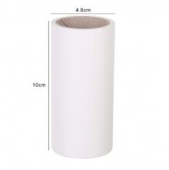 可撕式滚筒粘尘纸粘毛器替换芯 (散装)300/件 白色 单个