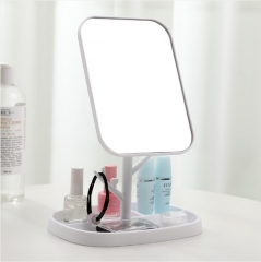 自营专属  可旋转台式化妆镜838 白色 见详情