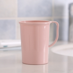 糖果色简易洗漱杯(240个/箱) 粉色 8*6.8*10.7cm