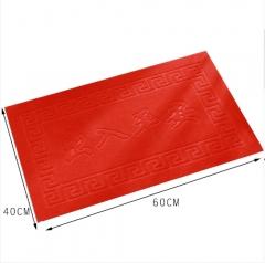 拉绒压花PVC防滑吸水地毯门垫地垫40*60   150/箱 随机 40*60