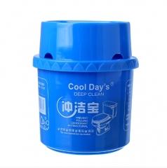 卫生间马桶清洁冲洁宝蓝泡泡微生物洁厕灵 72/箱 蓝色 1