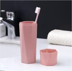 菱形旅行洗漱杯(132个/箱)个 粉色 洗漱杯