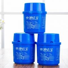华仆冲洁宝 卫生间微生物 洁厕灵 蓝泡泡(无售后)48/箱 蓝色