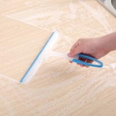 防滑胶柄玻璃刮(200个/箱)个 蓝色 见详情