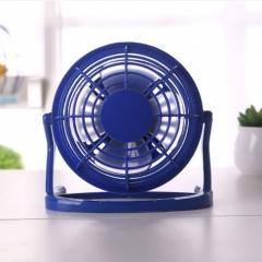盛夏专属  USB塑料4寸迷你小风扇 蓝色 15*8.5*14cm