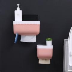 防水纸巾盒 粉色 大号
