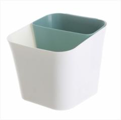 干湿两用分类垃圾桶50个/箱 绿色 见详情
