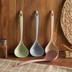 家用秸秆汤勺-- 500/箱 粉色 23.5*7cm