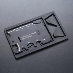 待用090户外多功能军刀卡黑色(1000个/箱)个 黑色 4.5*6.8CM