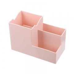 (专利产品)多功能收纳笔筒带手机支架的收纳盒 100/箱 粉色 见详情