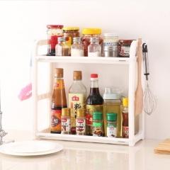 第一代厨房双层置物架  35/箱 白色 38*40*15cm(展开)