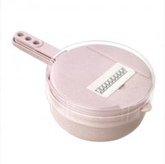 [特价清仓]  圆形小麦秸秆多功能切丝器 36/箱 如详情所示 粉色 见详情