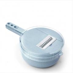圆形小麦秸秆多功能切丝器 36/箱 如详情所示 蓝色 见详情
