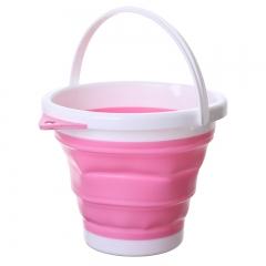 折叠钓鱼桶   40/箱 白粉两色 10L