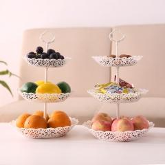 三层水果小吃摆盘 80个/箱 果盘 25.5*40cm