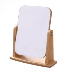 旋转木板镜 木质化妆镜  60/箱 旋转方形 见详情