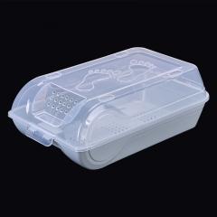 透明收纳鞋盒(60个/箱) 北欧蓝 见详情