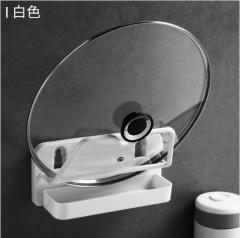 专利创意无痕贴锅盖架 100个/箱 见详情 白色 见详情