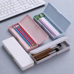 多功能简约文具盒学生收纳笔袋铅笔盒200/箱 灰色 见详情