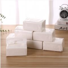 透明包装 (卫生纸)纸巾 100/箱 透明包装 12*9*5.5cm