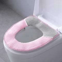 条纹马桶垫  200/箱 粉色 43*38cm