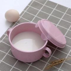麦秆儿童泡面碗 120/箱 粉色 见详情