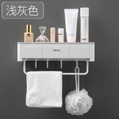 浴室多功能置物架 免打孔 50/箱 灰色 见详情