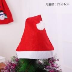 圣诞节装饰品 普通款圣诞帽--儿童 2000PCS