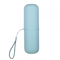 圆形旅行便携式套装洗漱杯刷牙杯子 牙刷盒 200/箱 绿色 18.5*5cm