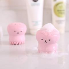 章鱼硅胶洗脸刷起泡器 500个/箱 粉色 见详情图 粉色 见详情图