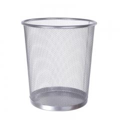 铁艺垃圾桶 小号  24个/箱 银色 23*26*8cm